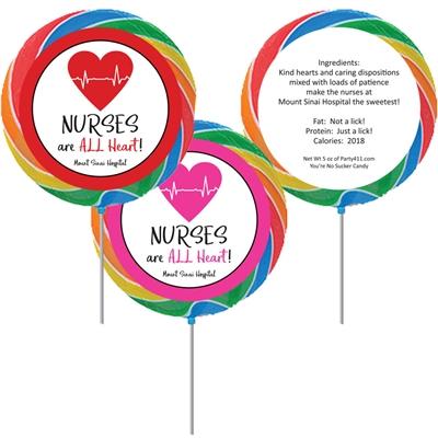 Nursing Appreciation Custom Lollipop