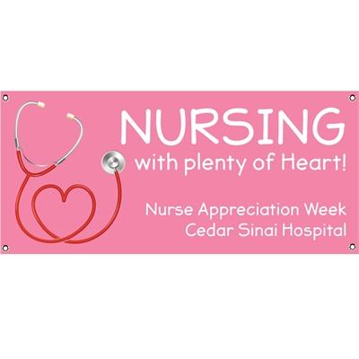 Nursing With Heart Appreciation Banner