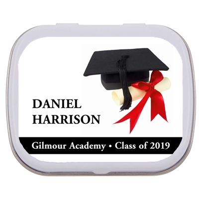 Graduation Mint Tin, Cap