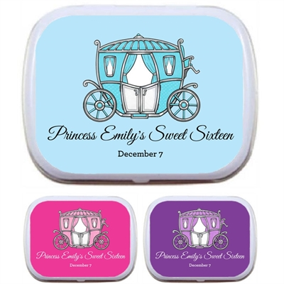 Fairy Tale Princess Theme Mint Tin