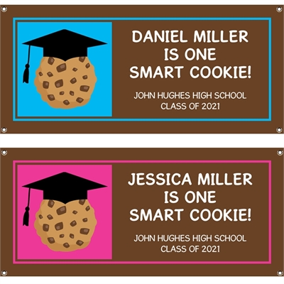 Graduation Smart Cookie Theme Banner