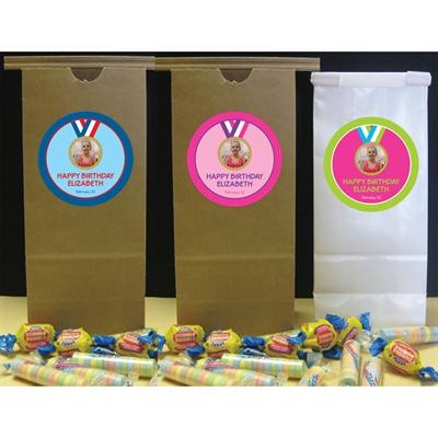 Gymnastics Gold Medal Theme Favor Bag
