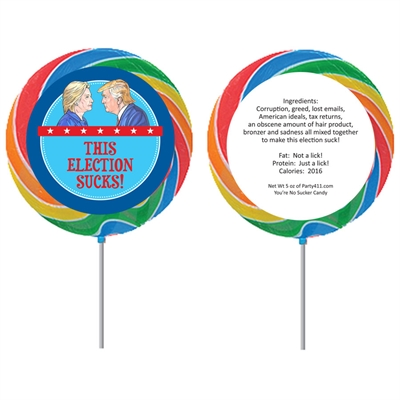Election 2016 Theme Lollipop
