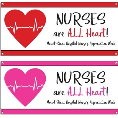 Nursing Appreciation Custom Banner