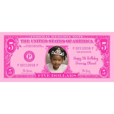 Personalized Princess Money
