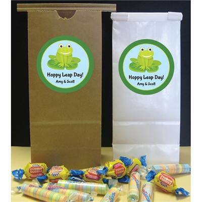 Leap Day Party Theme Favor Bag