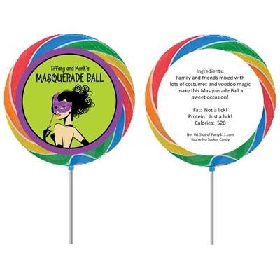 Halloween Masquerade Lollipop