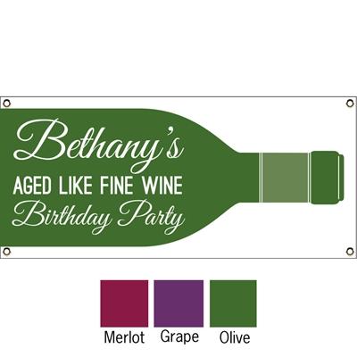 Wine Theme Banner