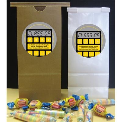 Graduation Calculator Party Favor Bag