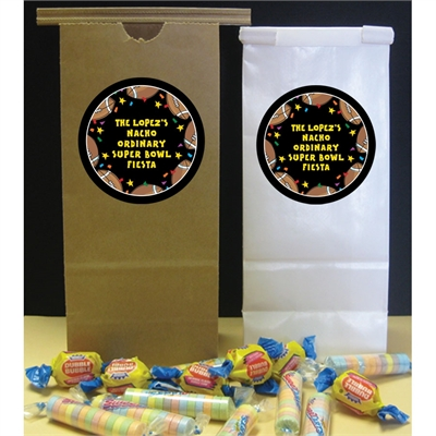 Super Bowl Fiesta Party Favor Bag