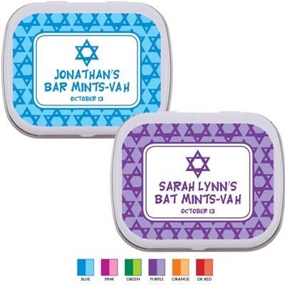 Mitzvah Stars Mint Tin