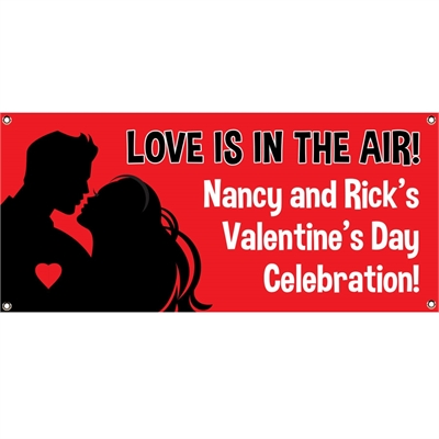 Valentine's Day Couple Theme Banner