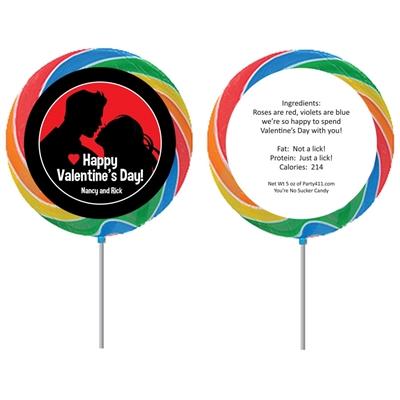 Valentine's Day Couple Lollipop