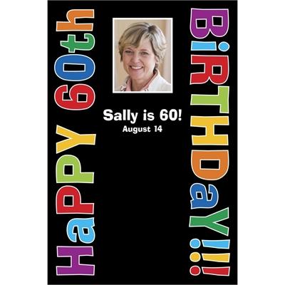 Birthday Celebration Sign In Board