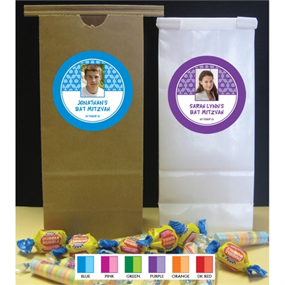 Mitzvah Stars Party Favor Bag
