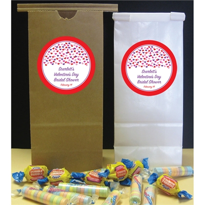 Heart Confetti Party Favor Bag