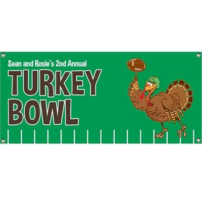 Thanksgiving Turkeybowl Theme Banner
