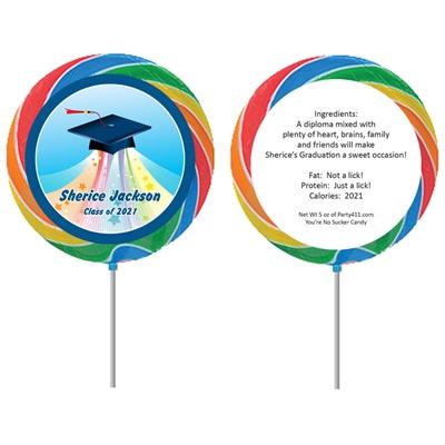 Graduation Land of Oz Theme Lollipop