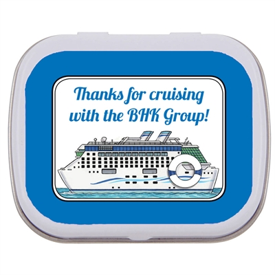 Cruise Theme Mint Tin