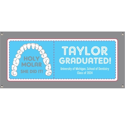 Graduation Dental School Theme Banner