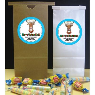 Chrismukkah Theme Party Favor Bag