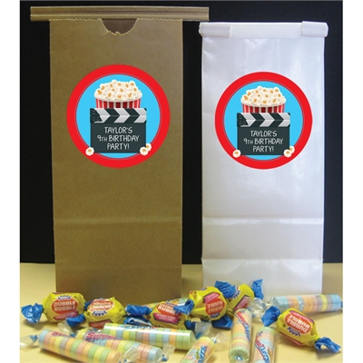 Movie Clapboard Custom Favor Bag