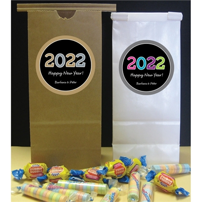 2018 New Year's Celebration Party Favor Bag