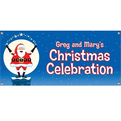 Christmas Santa Magic Theme Banner