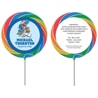 Graduation Sports Theme Lollipop