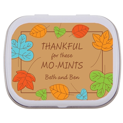 Falling Leaves Theme Mint Tin