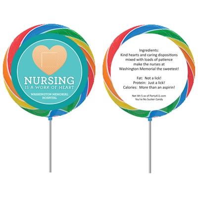 Nurse Appreciation Week Custom Lollipop