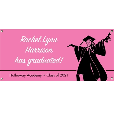 Graduation For Her Theme Banner