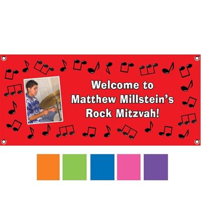 Rock 'n Roll Theme Banner