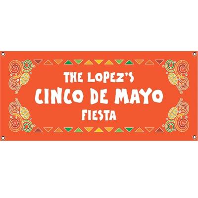 A Mexican Fiesta Theme Banner