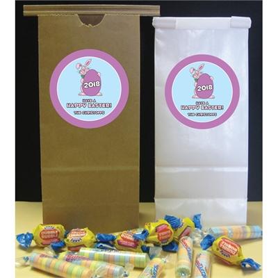 Easter Bunny Theme Party Favor Bag