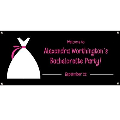 Bride's Party Theme Banner