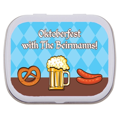 Oktoberfest Food Theme Mint Tin