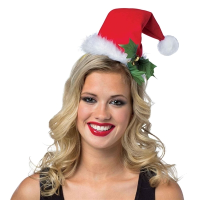 Mini Santa Hat Headband