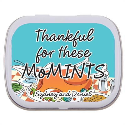 Thanksgiving Potluck Theme Mint Tin
