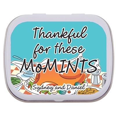 Thanksgiving Potluck Theme Mint Tin