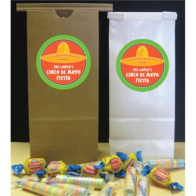 A Mexican Fiesta Theme Favor Bag