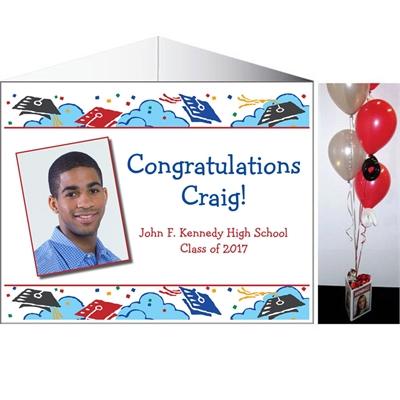 Graduation Picture Theme Centerpiece