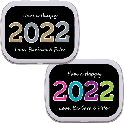 2020 New Year's Celebration Mint Tin