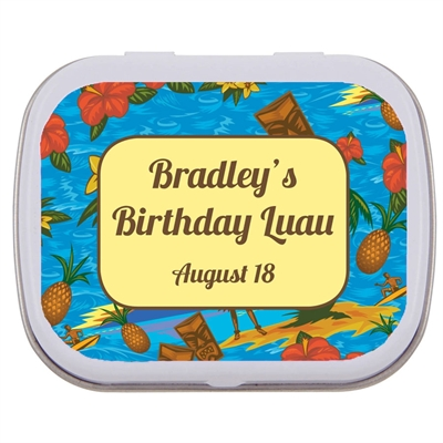 Hawaiian Shirt Theme Mint Tin