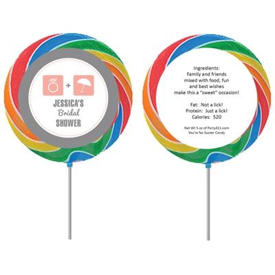 bridal icons lollipop
