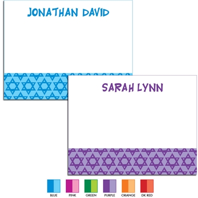 Mitzvah Stars Thank You Note