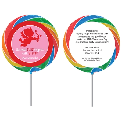 Cupid Anti-Valentine's Day Lollipop