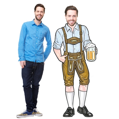 Oktoberfest Bavarian Guy Cutout