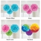 Tissue Ball Fluffy Decorations - Choose Your Colors!