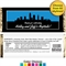 Pick Your Skyline Bridal Candy Bar Wrapper